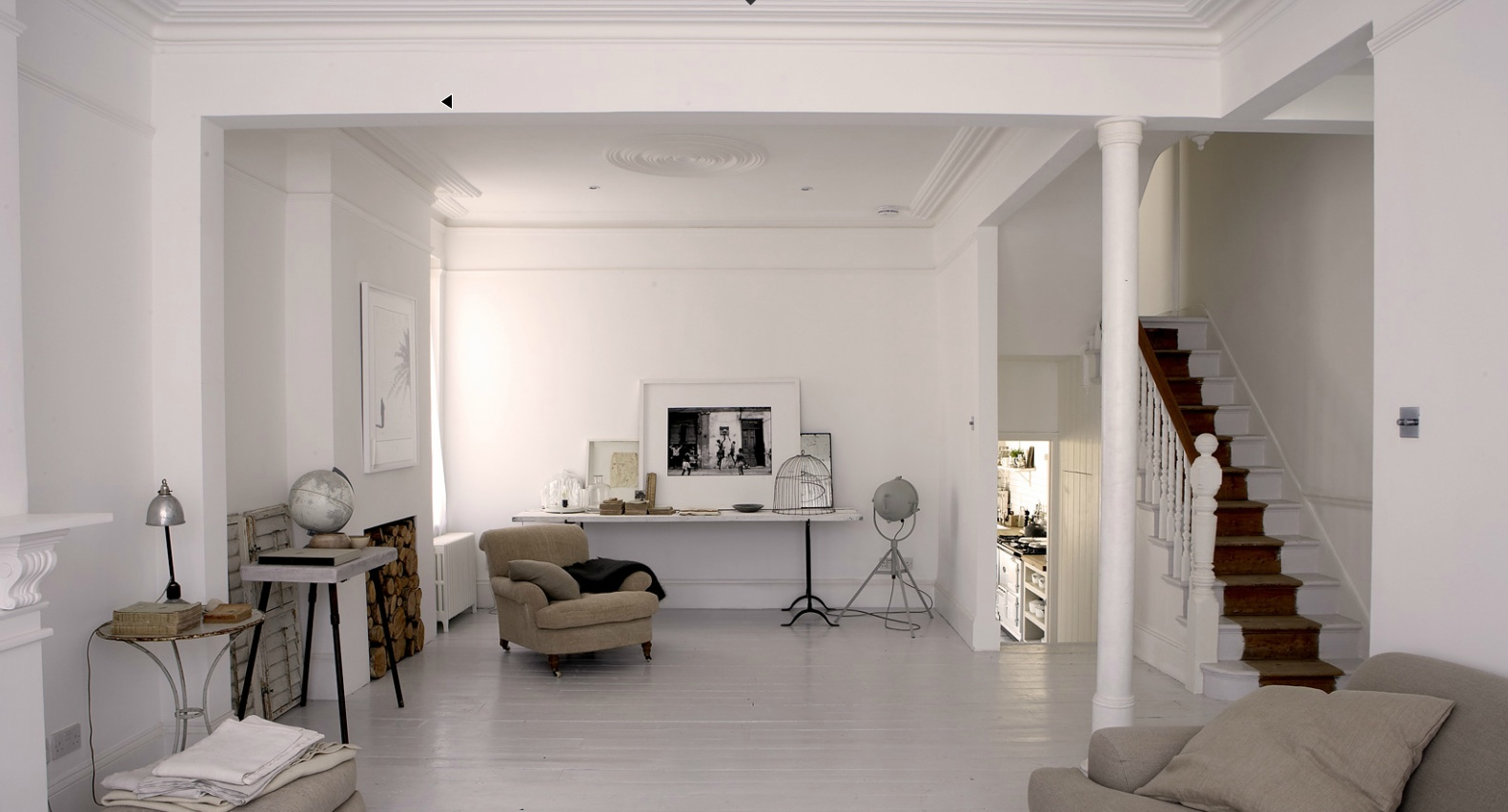 Pale And Interesting House Porn Pinterest